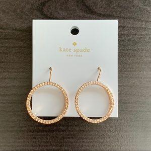 Kate Spade Gold Hoop Earrings